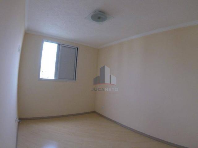 Apartamento com 2 dormitórios para alugar, 52 m² por r$ 1.350/mês - parque são vicente - m - Foto 10