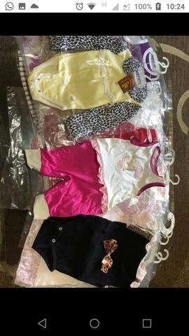 Lote de roupas novas, infantil menina $250