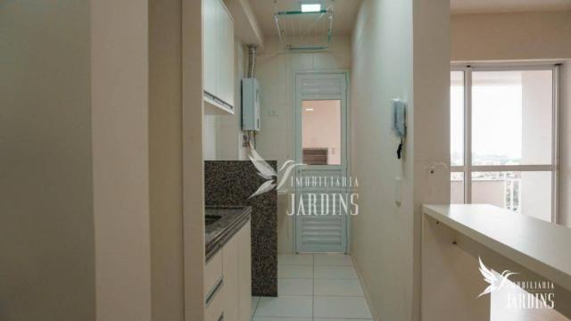 Apartamento com 3 dormitórios para alugar, 70 m² por r$ 1.400,00/mês - centro - londrina/p - Foto 2