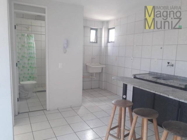 Apartamento com 1 dormitório para alugar, 39 m² por r$ 780/mês - centro - fortaleza/ce - Foto 6