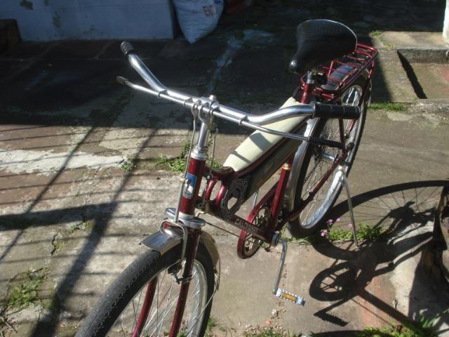 Bicicleta Caloi Barra Forte das antigas - Foto 5