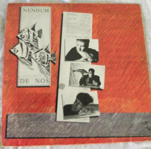 LP disco vinil Nenhum de nós cardume antigo radiola toca discos som - Foto 2