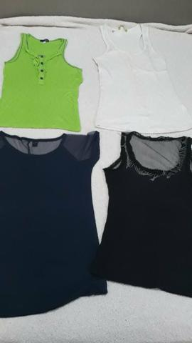 Blusas basicas feminina - Foto 2