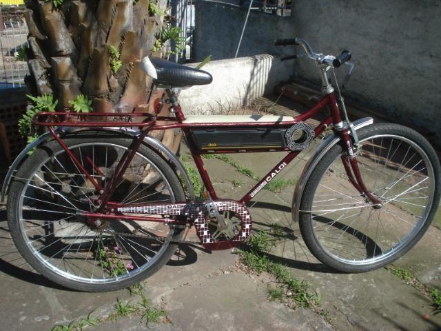 Bicicleta Caloi Barra Forte das antigas