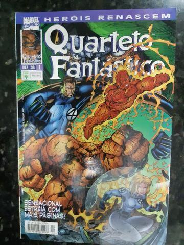 Quarteto Fantástico 1 (Heróis Renascem)