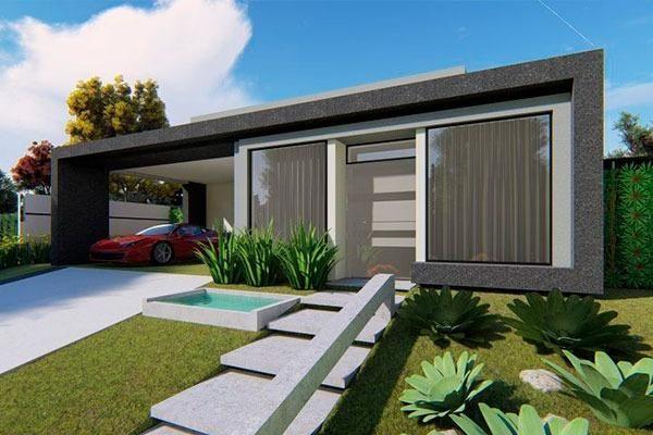 Casa com300mts+piscina+planta a sua escolha+financ. Casa na planta