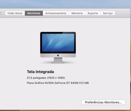 IMac 21.5 Late 2012 I5 2.7 Ghz 8gb Ram Ddr3 Geforce Gt 640m - Foto 4