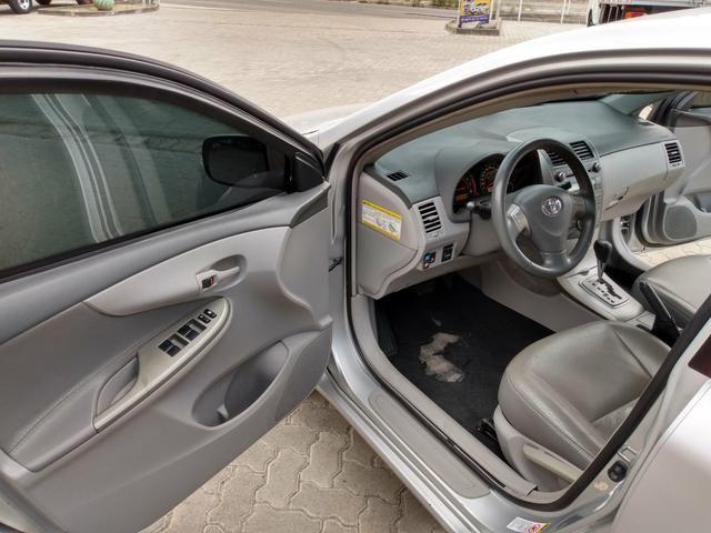 Toyota Corolla Xei 1.8 Automático 2009 Blindado - Foto 8