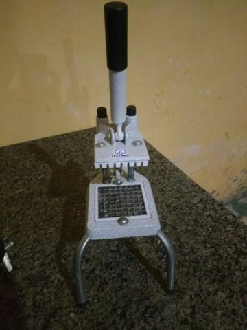 Fritadeira e cortador - Foto 2