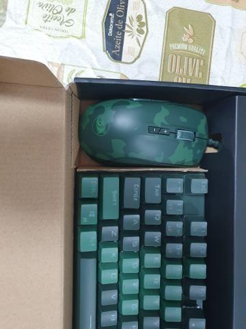 Kit teclado e mouse Redragon zerado - Foto 3