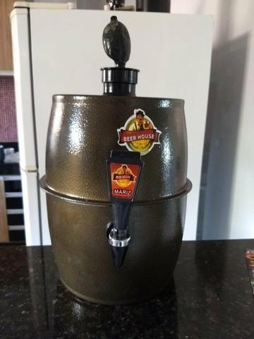 Vendo Chopeira Beer House, 5 litros de Alumíno - Foto 2