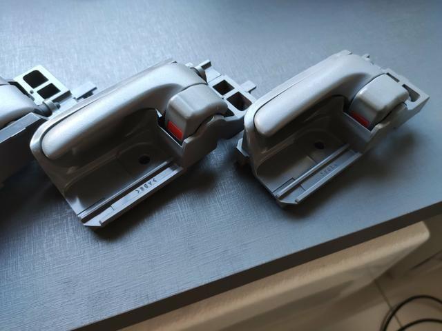 Puxadores da porta internos Corolla e Hilux - Foto 3