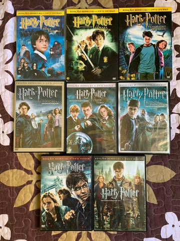 DVD's Harry Potter - Completa 8 filmes