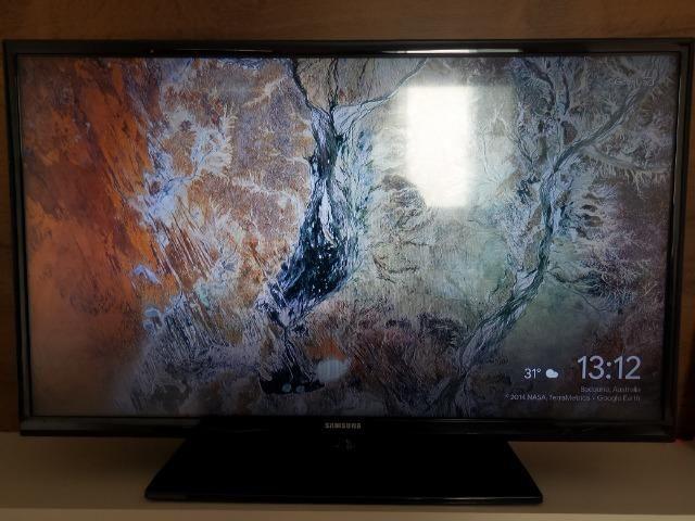 Tv Samsung 32 polegadas + crhomecast 2 Original - Foto 6