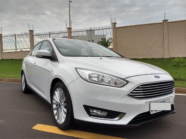 Ford Focus Titanuim 2016 Completíssimo, todas as revisões na concessionária - Foto 3