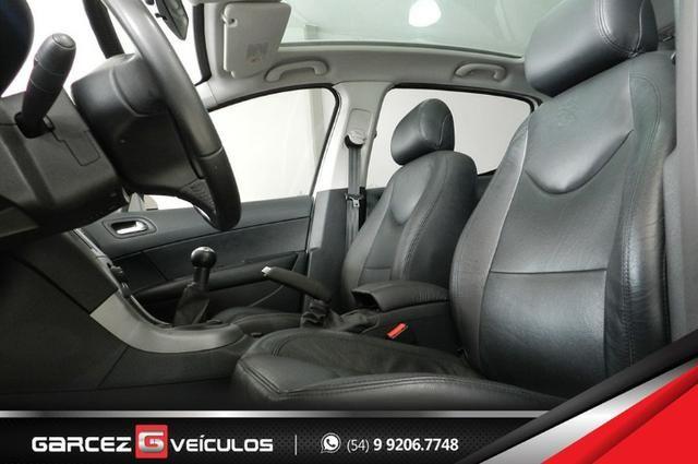 Peugeot 308 1.6 Active Flex Manual Com Teto Leds Diúrnos Couro Multimídia Top - Foto 15