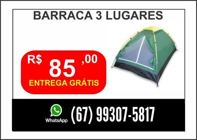 Barraca 3 lugares Entrega Grátis - Foto 4