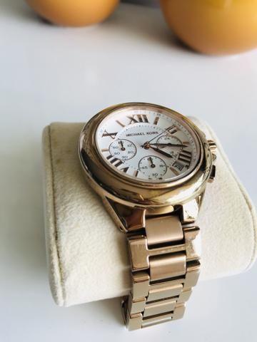 Relógio Michael Kors Feminino rose gold - Bijouterias, relógios e ... 42eef70f06