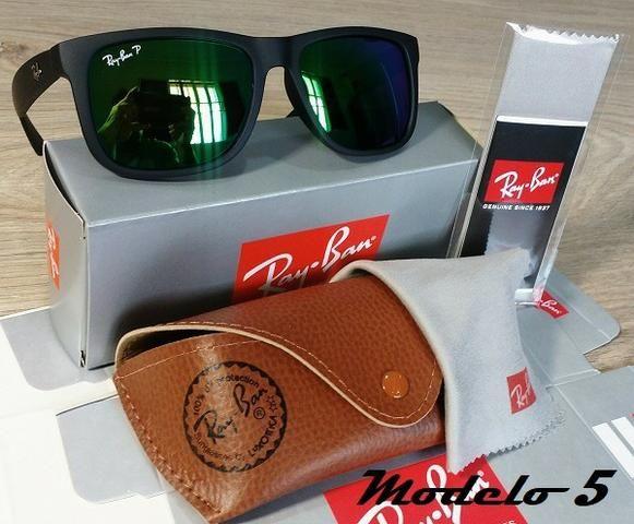 61e82177e363c Óculos RayBan Justin 4165 100% Polarizado - Bijouterias, relógios e ...