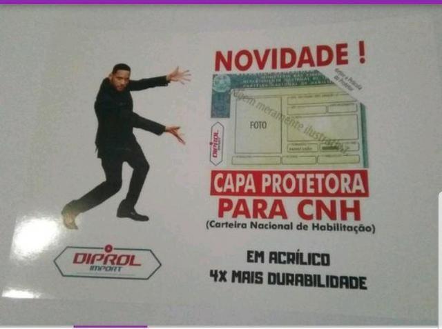 Capa Protetora De Acrilico Para Cnh - Foto 2