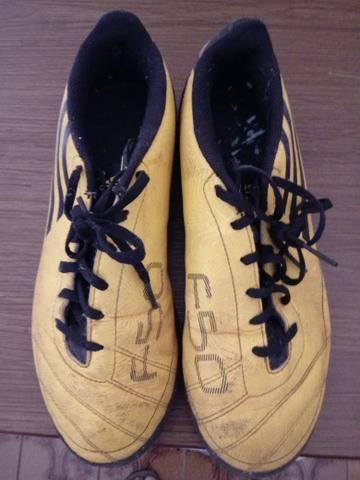 Chuteira infantil Adidas F50 N°36 - Esportes e ginástica - Penha ... 90dbac423d9ed