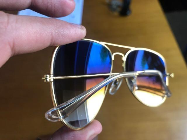 Óculos Rayban Aviador dourado Tamanhos M e P - Ray Ban - Bijouterias ... bbf52755ea