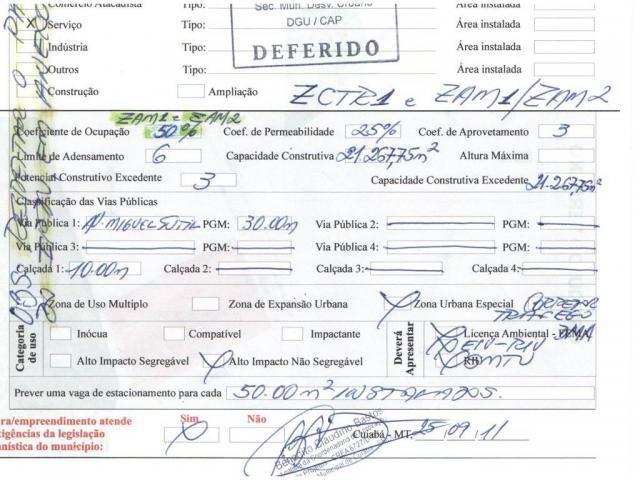 Loteamento/condomínio à venda em Duque de caxias i, Cuiaba cod:19813 - Foto 2