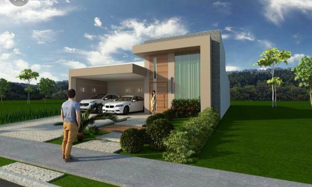 Casa nova 3quartos 3suites, sauna, piscina churrasqueira rua 12 Vicente Pires condomínio - Foto 4