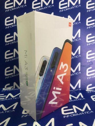 Xiaomi Mi A3 64GB/4GB - Branco - Novo - Loja Centro do Rio