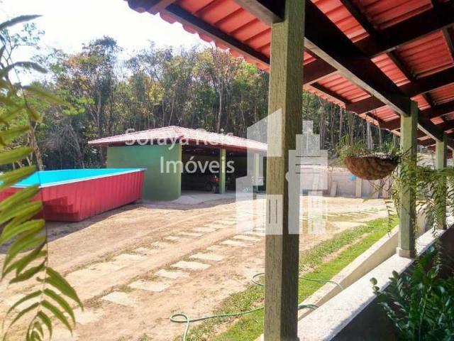 Chácara à venda com 4 dormitórios em Área rural de pará de minas, Pará de minas cod:820 - Foto 10