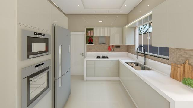 8445 | Casa à venda com 3 quartos em Jardim Cristhais 2, Dourados - Foto 2