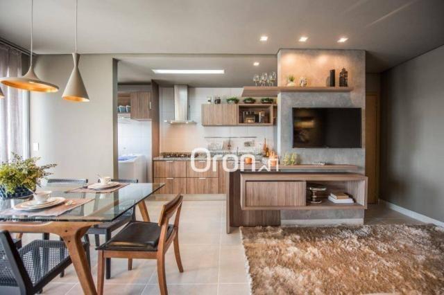 Apartamento à venda, 61 m² por R$ 350.000,00 - Vila Rosa - Goiânia/GO - Foto 2