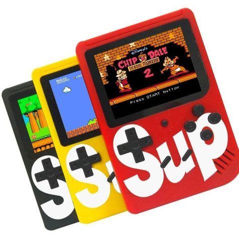 Mini Game Retrô Portátil 400 Games + Conexão P/ Tv  - Foto 2