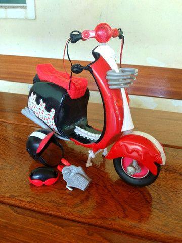 Bicicleta Barbie + Moto Monster Hugh - Mattel - Foto 4