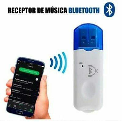 Usb Sem Fio Bluetooth Dongle Adaptador Receptor De Música - Foto 4