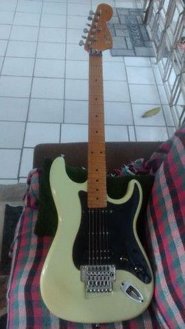 Guitarra Tagima T-650 FL Floyd Rose Raridade as Primeiras - Foto 5
