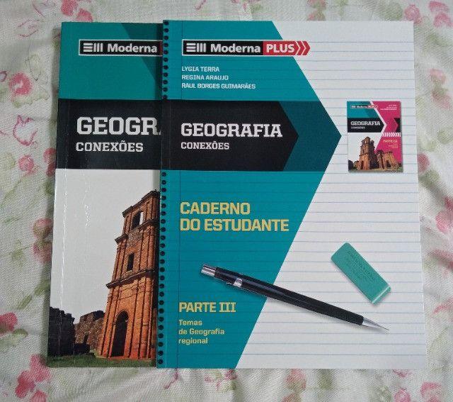 Box - Livros de Geografia - Ensino Médio (volume único) - Foto 2