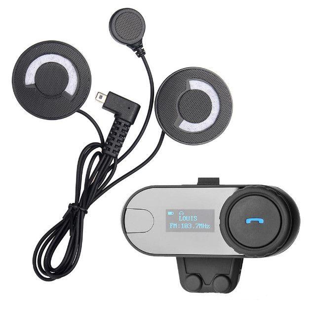 Intercomunicador Bluetooth Mp3 P/ Capacete Tcom-sc - Foto 4