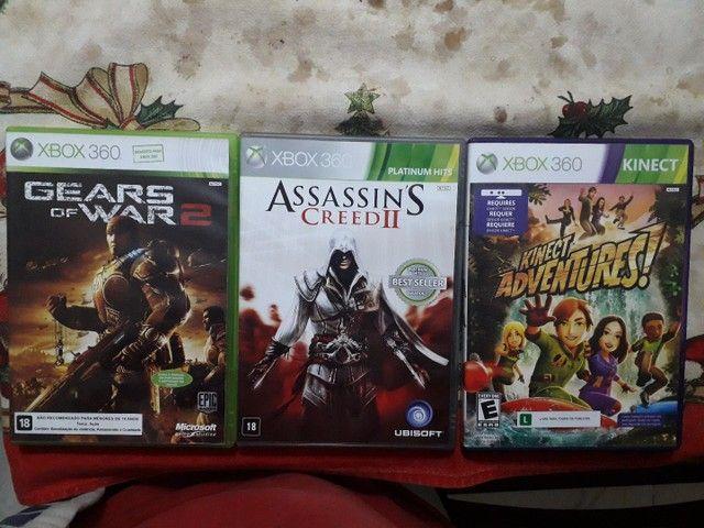 Kit 3 Jogos Xbox 360 Originais