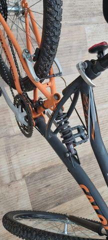 Bicicleta caloi aro 26 semi nova - Foto 4