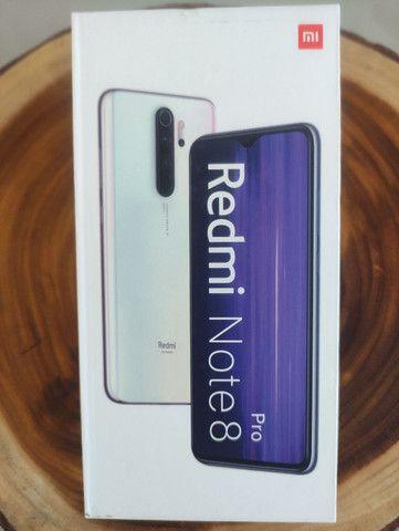SALDÃO LEVEL UP! REDMI Note 8 PRO 128 da Xiaomi.. Novo com pronta Entrega