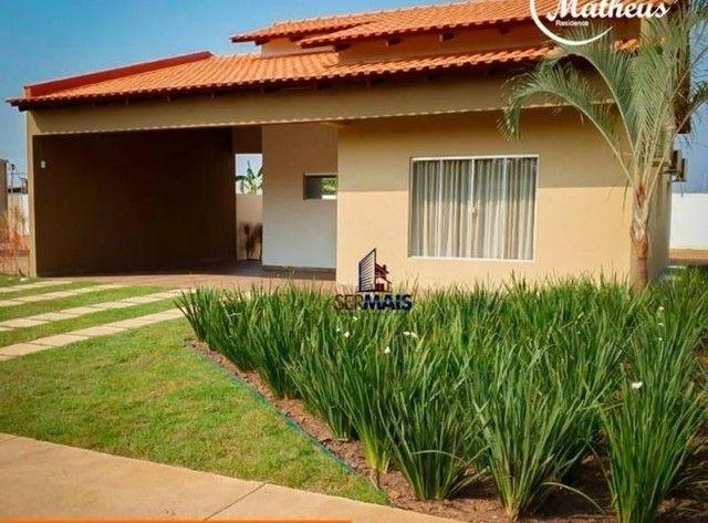 Residencial San Matheus: casa nova de 3 quartos com amplo quintal