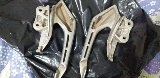 Alças laterais de alumínio liga leve da cb twister  - Foto 2