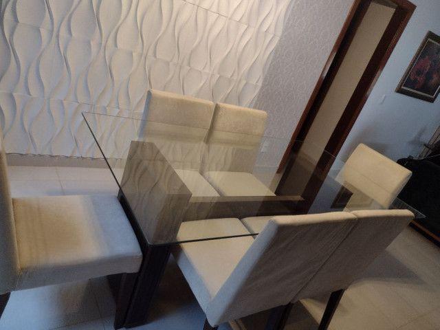 Mesa de Jantar com 6 cadeiras - Foto 6