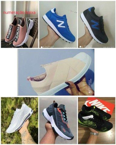 Vendo tênis Ñike e outros modelos ( 110 com entrega) - Foto 6