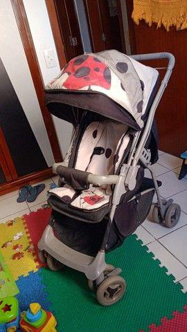 Carrinho de Bebê Galzerano Joaninha Unissex