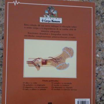 O Esqueleto e os Movimentos. Brian R. Ward. Col O Corpo Humano. Ed Scipione - Foto 2