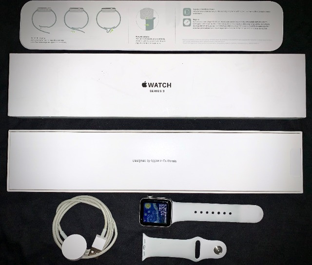 Apple Watch Series 3 (GPS) - 38mm - Branco - Foto 3