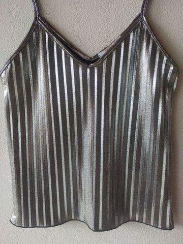 Blusa prata - Foto 2