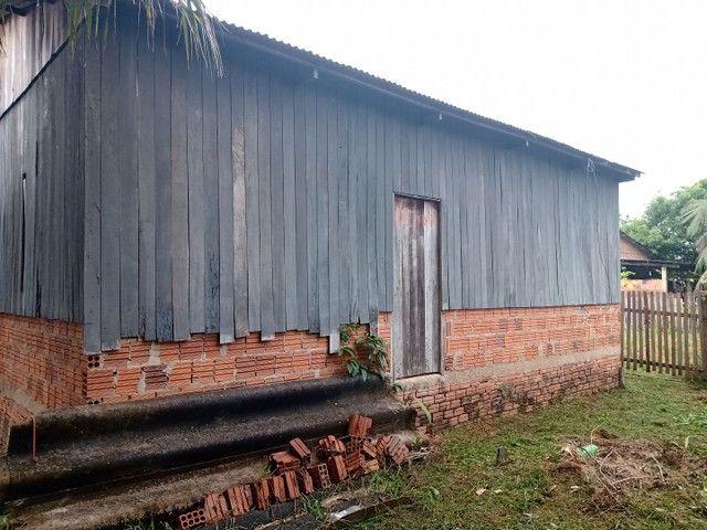 Verde_se está casa na vila acre aceito troca em gado ou uma casa no João Eduardo - Foto 6